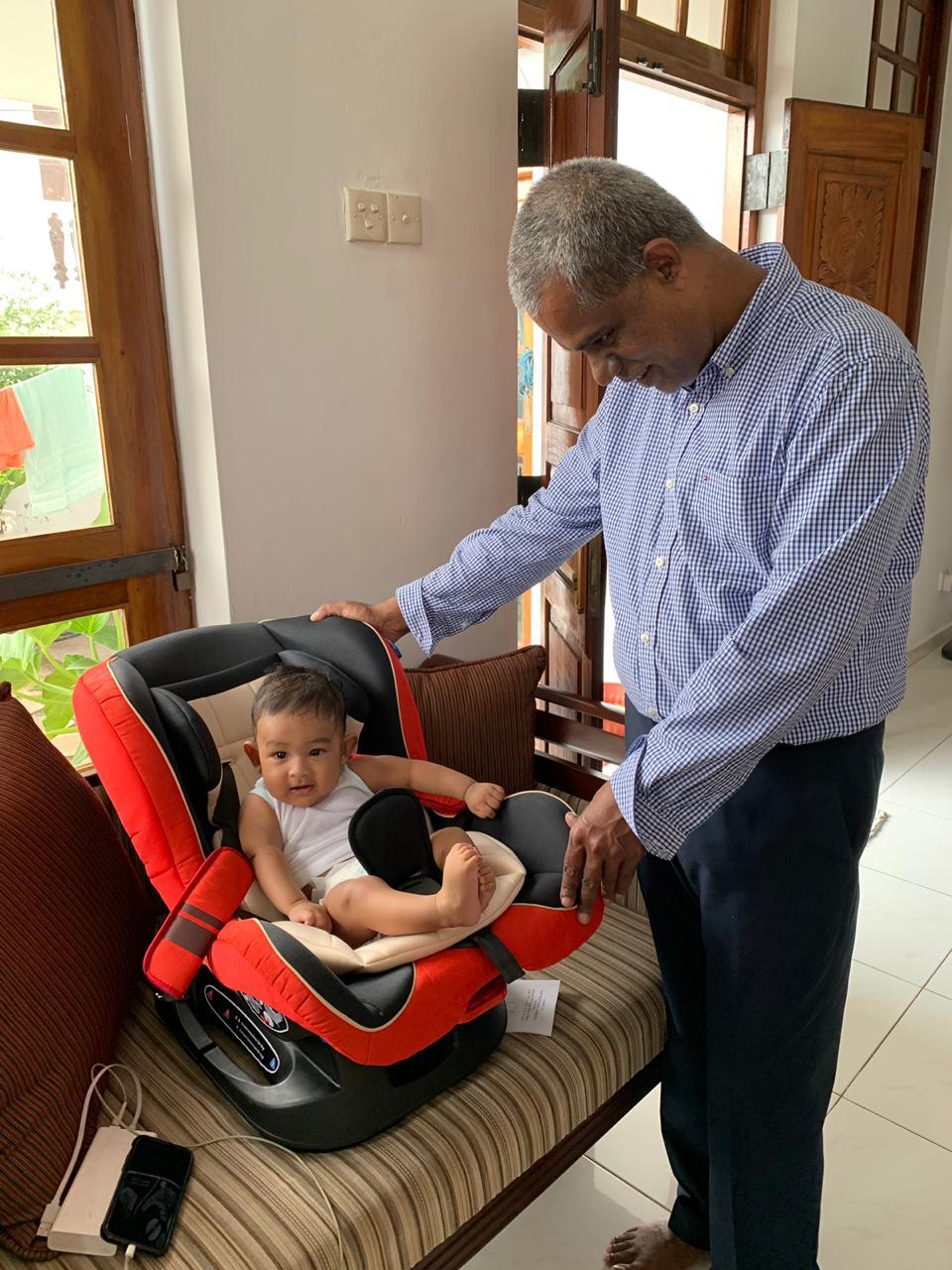 seeing 1st grandson